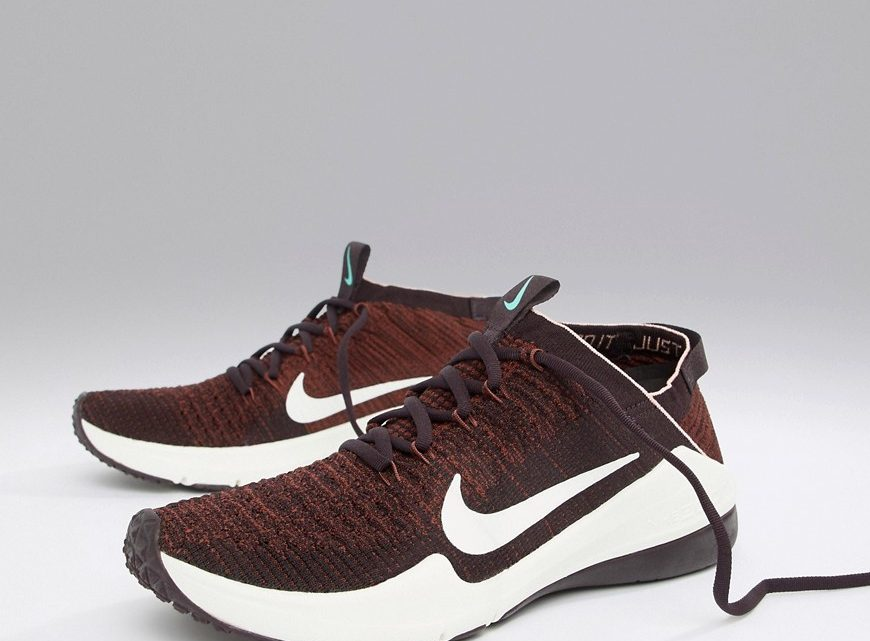 Nike Training - Air Zoom Fearless Flyknit - Baskets - Bordeaux-Violet