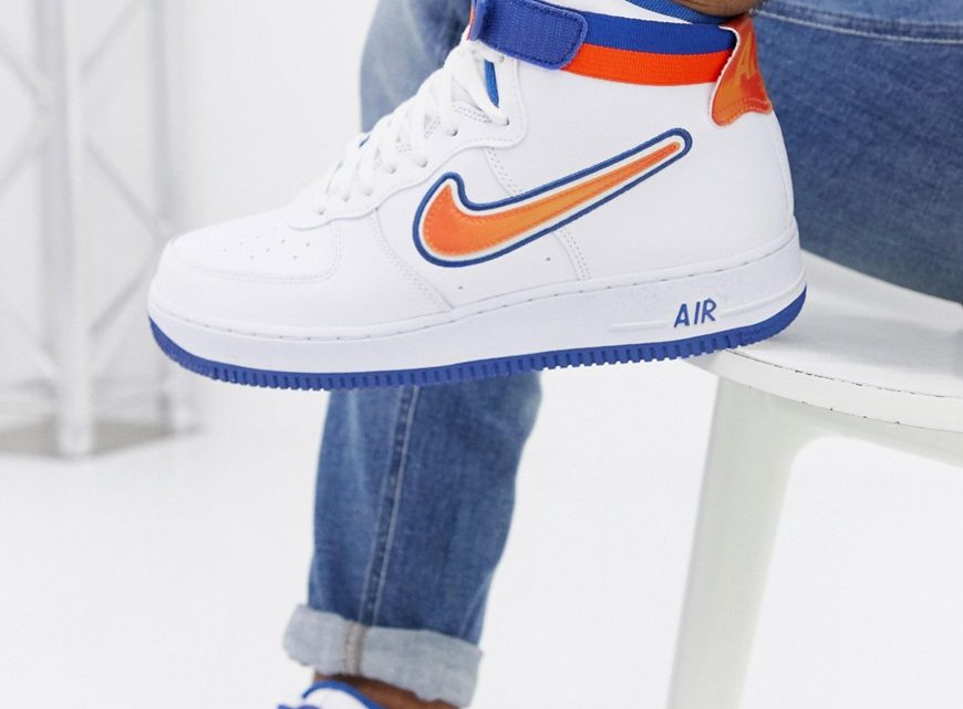 Nike - Air Force 1 High '07 - Baskets de course - Blanc AV3938-100