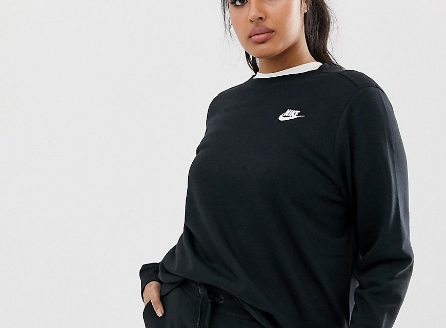 Nike - Club Plus - Sweat-shirt - Noir