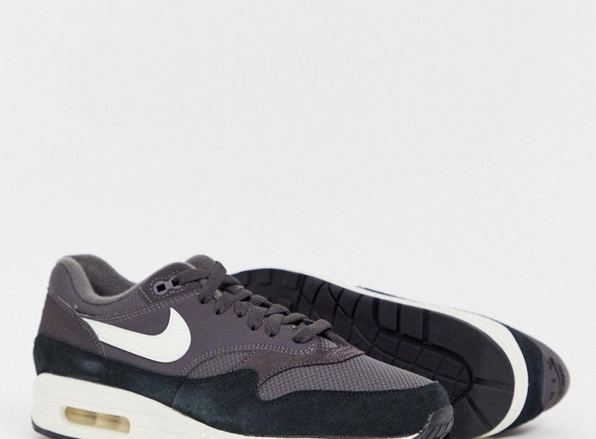 Nike - Air Max 1 - Baskets - Bleu marine-Navy