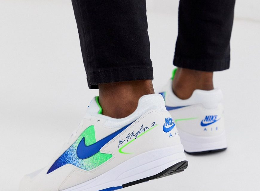 Nike - Air Skylon II - Baskets - Bleu