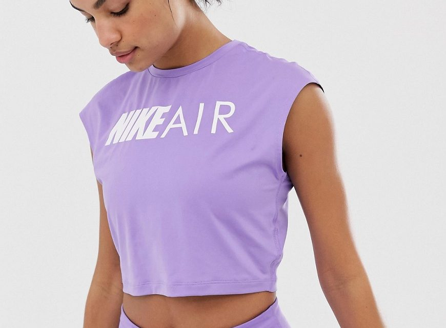 Nike - Air - T-shirt court - Violet