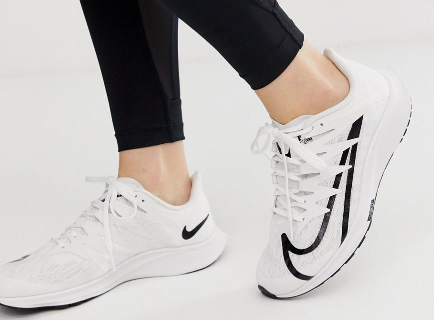Nike Running - Zoom Rival Fly - Baskets - Blanc