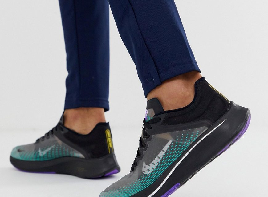 Nike Running - Zoom Fly SP - Baskets - Gris