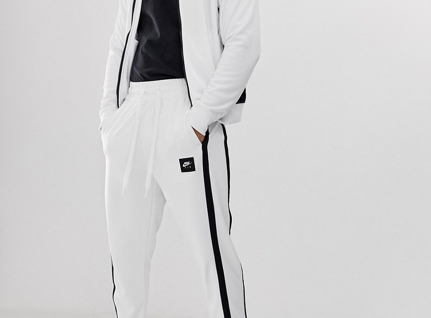 Nike - Air - Pantalon de jogging - Blanc