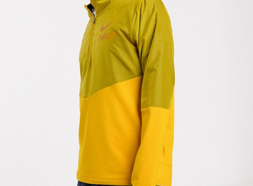 Nike Running x Cody Hudson - Element - Sweat-shirt - Jaune