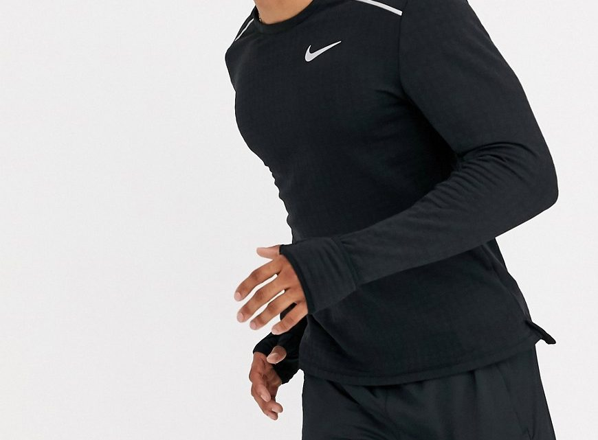 Nike Running - Therma Sphere - Top à manches longues - Noir