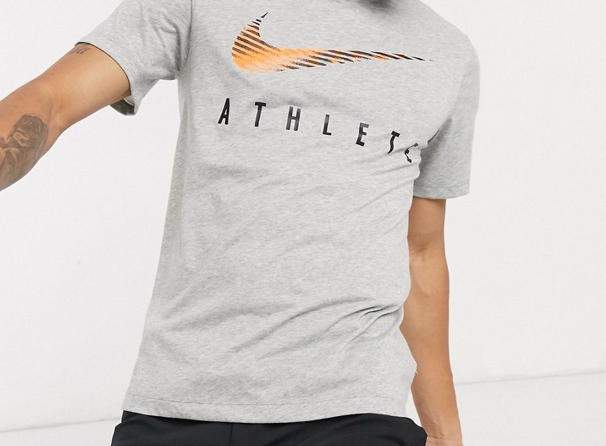 Nike Training - Dri-FIT Athlete - T-shirt - Gris