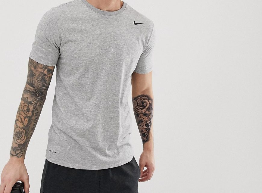 Nike Training - Dri-FIT 2.0 - T-shirt - Gris 706625-063